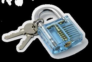 Azure Lock Transparent Lock